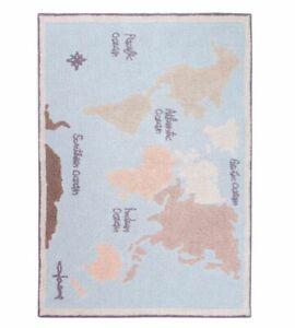 Lorena Canals | Vintage Map | C-VINTMAP | 140 x 200cm | RRP £213 Each