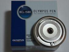 Olympus M.Zuiko Digital 15mm f8.0 BCL-1580 Body Cap Lens (Sliver)
