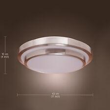 Modern Silver Round Flush Mount Lighting Ceiling Light Chandelier Pendant Lamp