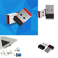 150Mbps Mini Ralink RT5370 USB 2.0 WiFi Wireless Network Card for 802.11 b/g/n