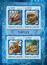 Sierra Leone 2016 MNH Turtles Galapagos Giant Tortoise 4v M/S Reptiles Stamps