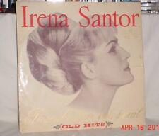 IRENA SANTOR PIOSENKI STARE JAK SWIAT OLD HITS 33 LP MUZA 1966 STEREO POLAND VG