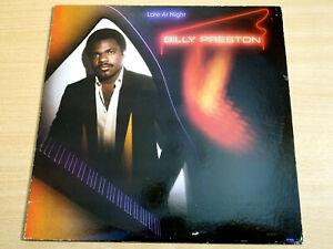 EX/EX- !! Billy Preston/Late At Night/1979 Motown LP/USA Issue