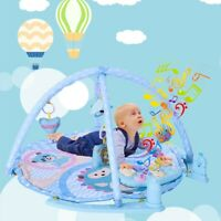 3 in 1 Baby Light Musical Gym Play Mat Kick Play Fitness Fun Piano Boy Girl Kids