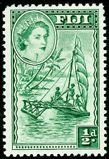 FIJI SG280, ½d myrtle-green, NH MINT.