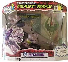 Transformers Beast Wars 10th Anniversary Megatron NEW T-Rex 2005 Box Has Creases