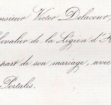 Victor Henri Delacour 1860 Wilhelmine Julie Portalis