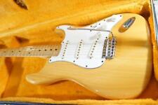 1970's FERNANDES FST-75N NAT Stratocaster Type Vintage MIJ Electric Guitar W/HC