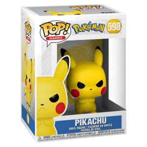 Pokemon Pikachu Grumpy Pop! Vinyl RS