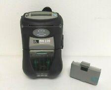 Zebra RW220 Mobile Printer USB, WiFi Radio and Card Reader P/N: R2D-0UGA010N-00