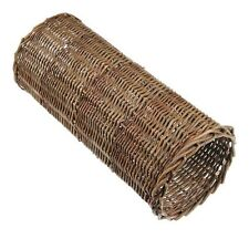 Willow Pet Tube Tunnel Scratch Roll 32cm Long 7 x 5inch Entrance Rat Gerbil