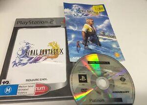 Final Fantasy X PS2 Playstation 2