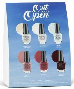 Morgan Taylor Nail Polish 0.5oz/15mL Out In The Open New Collection 2021