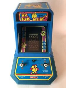 TESTED Ms. Pac-Man 1981 Coleco Table Top Mini Arcade Video Game vintage Nintendo