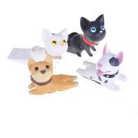 Creative Dog Cat porte bouchon de sécurité PVC bébé figure jouets maison décorat