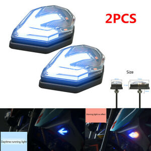 12V Motorcycle Turn Signals Scooter Modified Driving Passing Light Warning Lamp