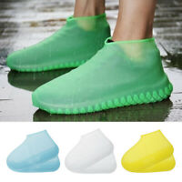 Silicone Waterproof Shoe Cover Outdoor Rainproof Hiking Skid-proof Light in