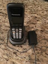 Panasonic Cordless Phone Kx-Tga64 W/ Charging Base Pnlc1008Za T & Power Adapter