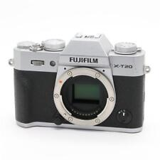 Fujifilm X-T20 Mirrorless Digital Cameras 24.3MP Body only Silver Excellent