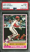 1976 Topps #480 Mike Schmidt PSA 8 NM-MT