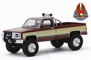 Voiture GMC Chevrolet PickUp K-2500 L'Homme Qui Tombe à Pic K2500 Stuntman 1/64