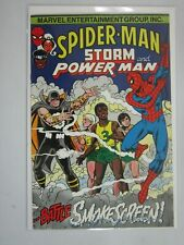 Spider-Man Storm and Power Man #1 8.0 VF (1992)