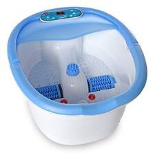 Masajeador Para Pies Vibración Baño Spa Burbujeante Rodillos Control Temperatura