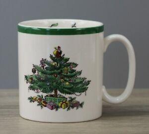 Spode Christmas Tree Henkelbecher Kaffeebecher Becher Ø ca. 8 cm Höhe ca. 8,5 cm