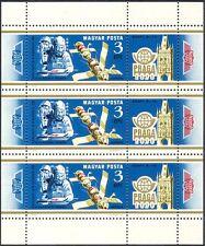 Hongrie 1978 Soyouz/Salyut/Espace/Astronaute/ROCKET/stampex/Transport 3 V M/S n42925