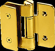 CRL Gold Plated Zurich 05 Series Wall Mount Outswing Hinge