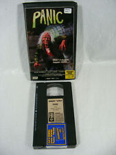Panic Vhs Gorgon Video 1983 Clamshell - Tested