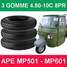 Set pneumatici 4.50-10C 76L 8PR Per APE PIAGGIO MP501 - MP601 - Omologato