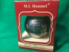 """Collectible Classic Round Ornament Christmas Hummel - """"1993 Little Guardian"""""""