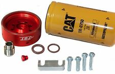 CAT Fuel Filter Adapter Kit for 01-16' Chevy/GMC DURAMAX w/ Billet Bleeder