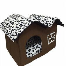 Lit pour chien panier corbeille maison couchage douillet maisonnette niche dog