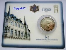 Luxemburg / Luxembourg speciale 2 euro 2007 Palais Grand Ducal BU in Coincard
