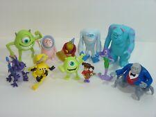 McDonalds Disney Monsters Inc Set / Lot of 11 Figures