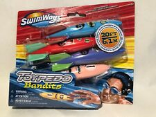 SwimWays Toypedo Bandits 4 Pack Pool Toys New!