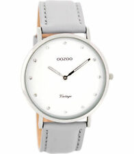 OOZOO Quarz-Armbanduhren (Batterie) mit Armband aus echtem Leder