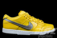NIKE DUNK LOW SB PRO OG QS DIAMOND SUPPLY CO CANARY YELLOW Sz 9.5 COMPLEXCON