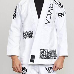 Shoyoroll RVCA BJJ Gi-Jiu-jitsu New white, Black Batch 105 Uniform /MMA Suit A4