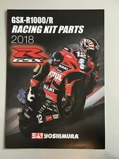 SUZUKI GSX-R 1000/r RACING KIT PARTS-Yoshimura - 2018 BROCHRE Prospect en