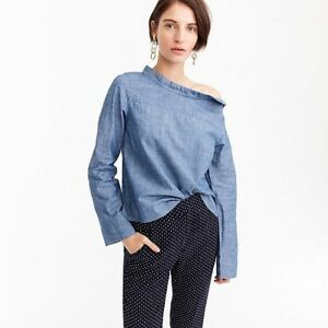 Blouse Chambray J CREW Taille 4 (36)