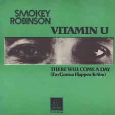 "SMOKEY ROBINSON – Vitamin U (1977 NEAR MINT MOTOWN VINYL SINGLE 7"" HOLLAND)"