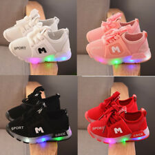 New Lights Shoes for Kids Boy Girl Toddler Baby Breathable Sneakers Sport Shoes