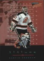 1999-00 (DEVILS) Ultimate Victory Stature #S7 Martin Brodeur
