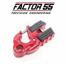Factor55 Ultrahook Ultra Hook Winch Mount Shackle Mount 00250-01 RED