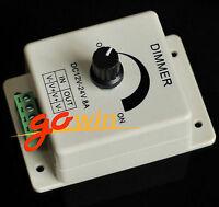 12V 8A PIR Sensor LED Strip Light Switch Dimmer Brightness Adjustable