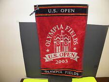 GOLF U.S. OPEN 2003 OLYMPIA FIELDS LOGO TOWEL  16 X24