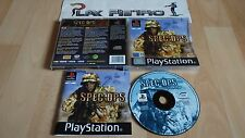 PLAY STATION PS1 PSX SPEC OPS AIRBORNE COMMANDO COMPLETO PAL ESPAÑA